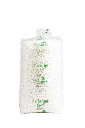 Product Image for 16060015 Packing Peanuts Corn Starch